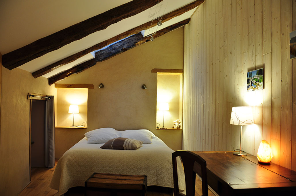Chambre 3 avec lit 160/200